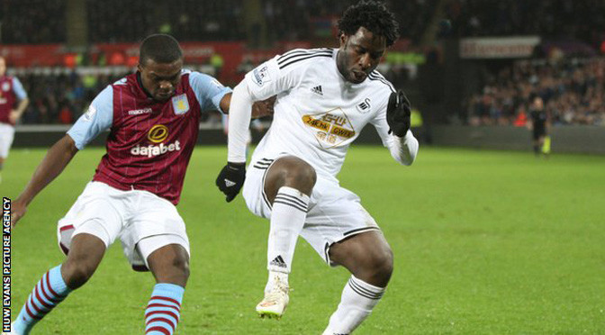 Premiership: Man City in advanced talks with Swansea over Wilfried Bony