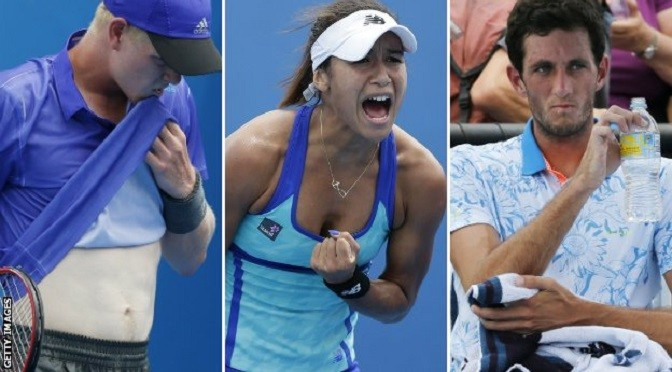 Australian Open 2015: Watson, Ward and Edmund all out
