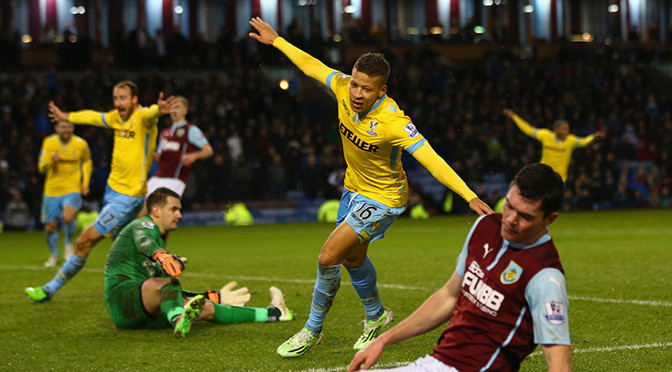 Premiership: Burnley 2-3 Crystal Palace