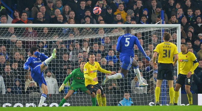 FA Cup: Chelsea 3-0 Watford