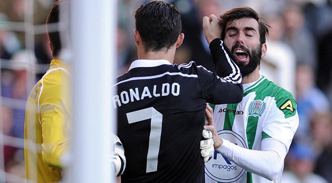 La Liga: Cordoba 2-1 Real Madrid