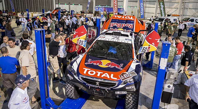 Dakar: Scrutineering over with 406 vehicles ready to go