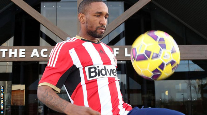 Premiership: Jermain Defoe: Sunderland sign England striker from Toronto