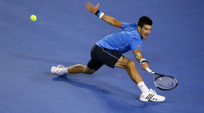 Australian Open: Novak Djokovic in final after beating Stan Wawrinka