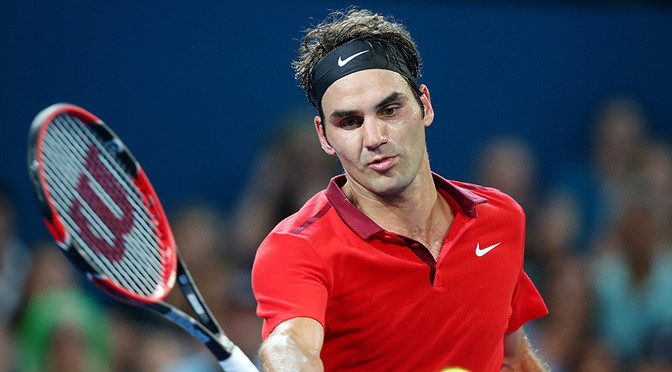 ATP Brisbane: Federer opens 2015 with battling win