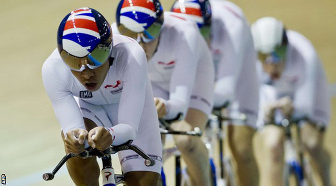 Cycling: UCI World Cup: Great Britain take men's team pursuit gold