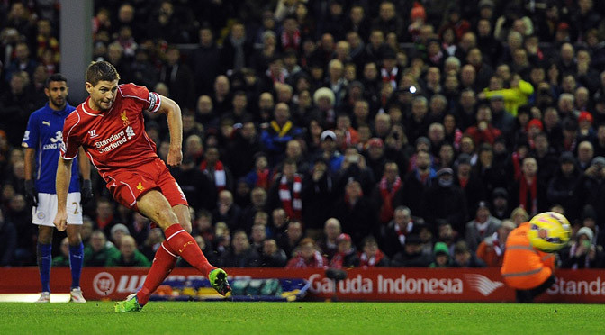 Premiership: Liverpool 2-2 Leicester