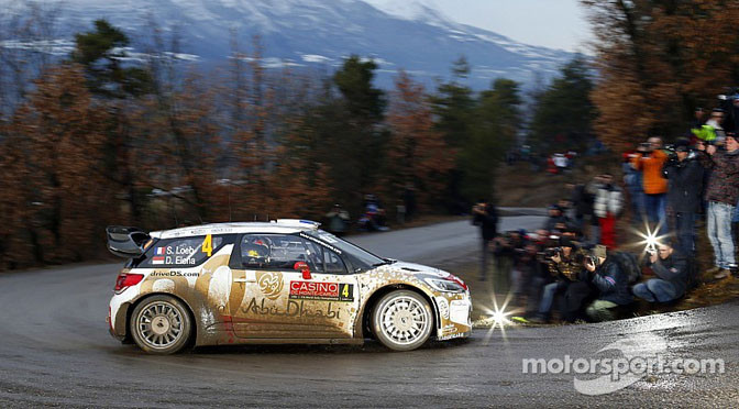 WRC: Loeb wastes no time at Monte Carlo