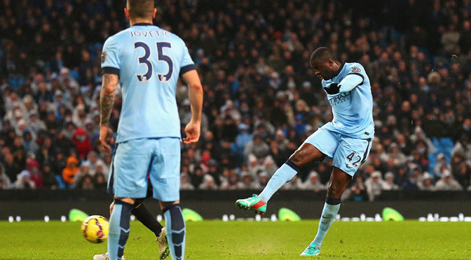 Premiership: Man City 3-2 Sunderland