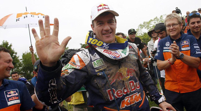 Dakar: Bikes: Coma claims fifth Dakar crown