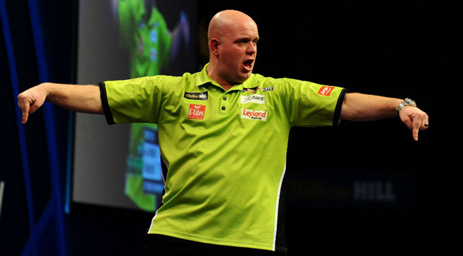 Darts: Van Gerwen sets up Anderson semi-final