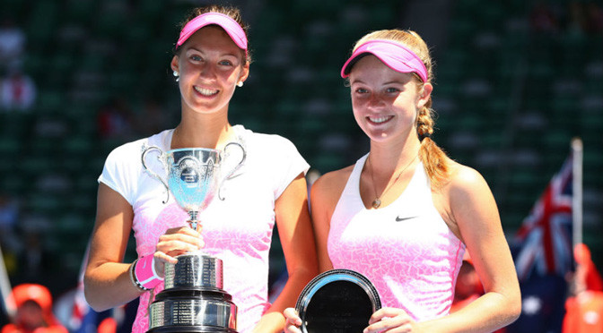 Australian Open: Great Britain's Swan beaten in girls final