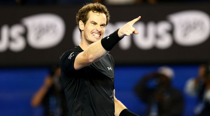 Australian Open: Andy Murray in final after beating Tomas Berdych