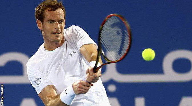 Tennis: Andy Murray beats Rafael Nadal in Abu Dhabi