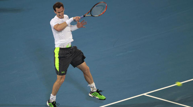 Tennis: Andy Murray continues Australian Open warm-up with impressive win
