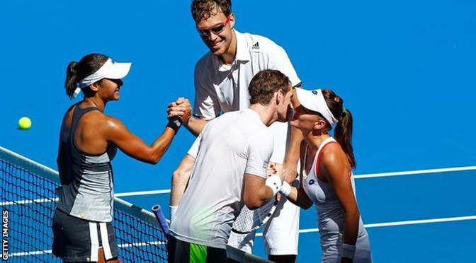Tennis: Andy Murray & Heather Watson of GB lose in Hopman Cup to Poland