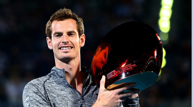 Tennis: Murray wins first trophy of 2015 after Djokovic withdrawal