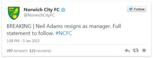neil-adams-resigns-as-norwich-manager-tweet