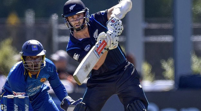 Cricket: New Zealand v Sri Lanka: Kiwis seal series with Dunedin win