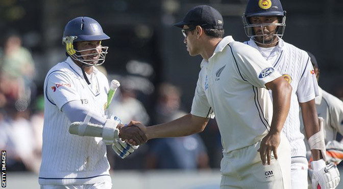 Cricket: New Zealand v Sri Lanka: Kumar Sangakkara closes in on Don Bradman double hundred record