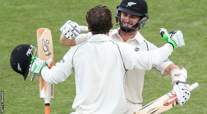 Cricket: New Zealand v Sri Lanka: Williamson & Watling set Test record sixth-wicket stand