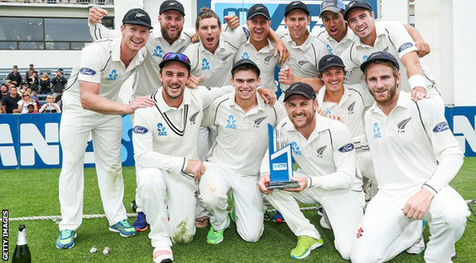 Cricket: New Zealand beat Sri Lanka by 193 runs to win Test series 2-0