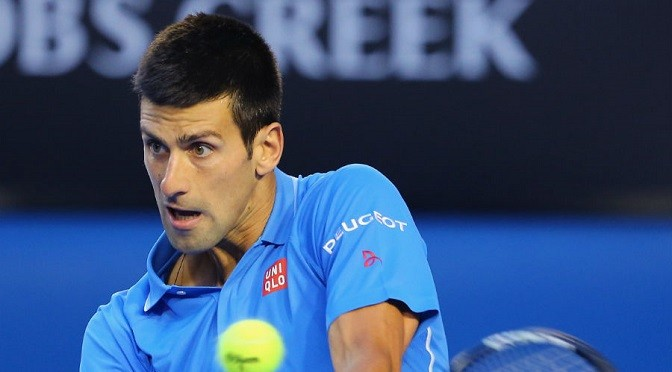Australian Open: Novak Djokovic beats Milos Raonic in quarters