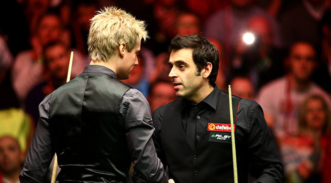 Snooker: Robertson thrashes O'Sullivan to reach final