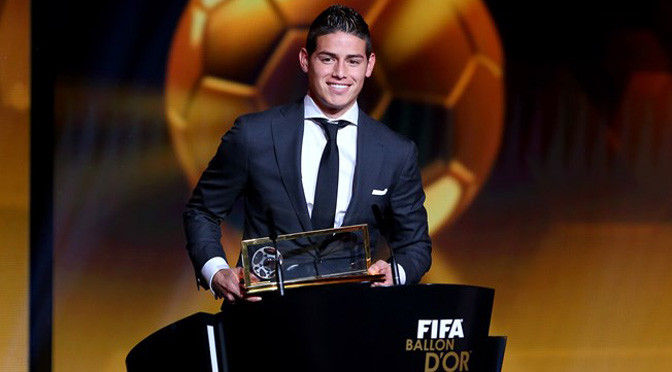 FIFA goal of the year: James Rodriguez beats Stephanie Roche for Puskas award