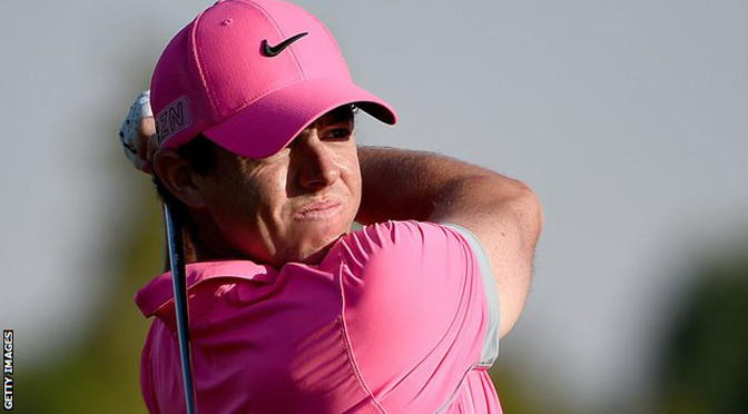 Dubai Desert Classic: Rory McIlroy leads after sublime 64