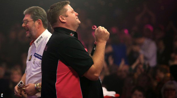 BDO World Darts: Scott Mitchell beats Martin Adams to win title