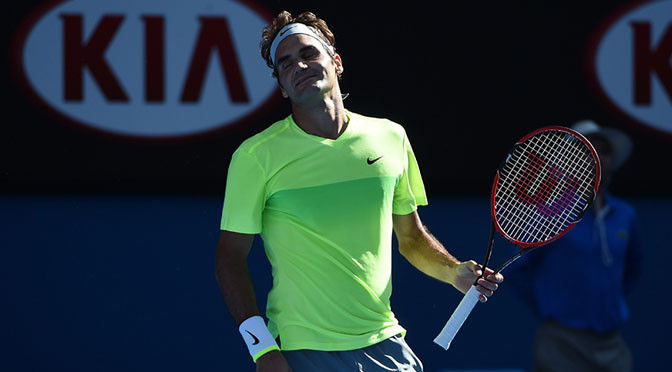Australian Open: Roger Federer beaten by Andreas Seppi