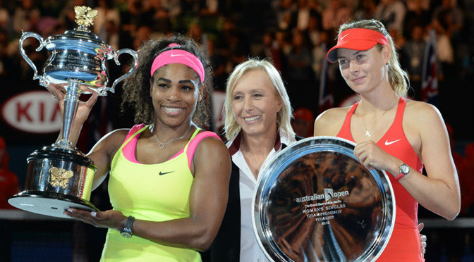 Australian Open: Williams continues dominance over rival Sharapova