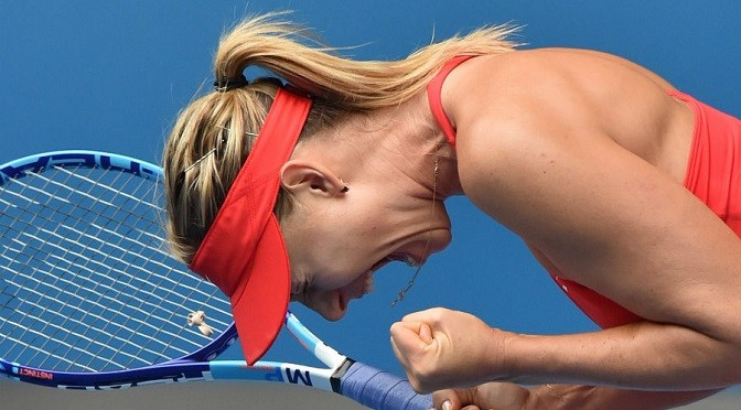 Australian Open: Maria Sharapova beats Eugenie Bouchard