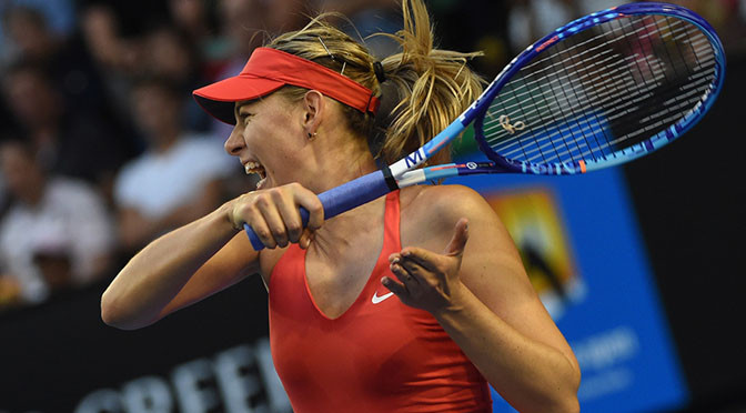 Australian Open: Sharapova eases into fourth round