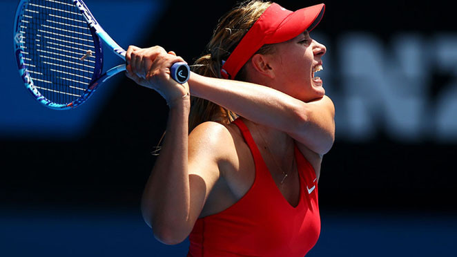 Australian Open: Sharapova survives two match points to progress