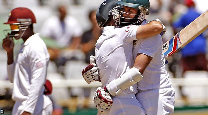 Cricket: South Africa v West Indies: Hosts win series, Alviro Petersen retires