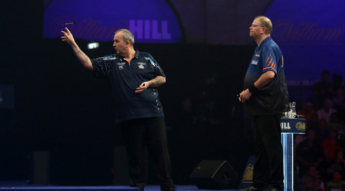 Darts: Taylor gets the better of Van Barneveld again