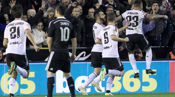 La Liga: Valencia 2-1 Real Madrid