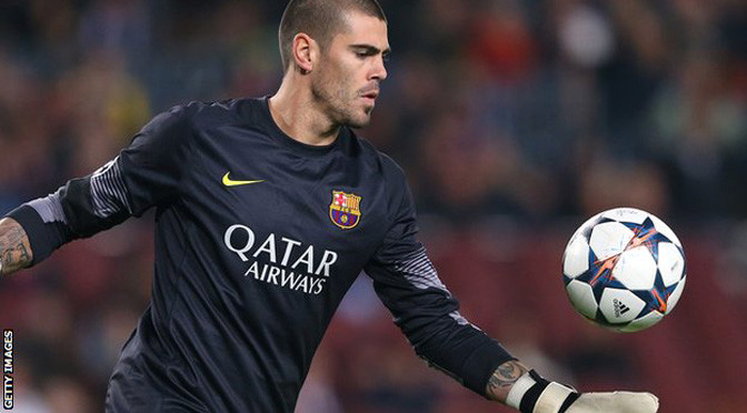 Premiership: Man Utd to sign ex-Barcelona goalkeeper Victor Valdes