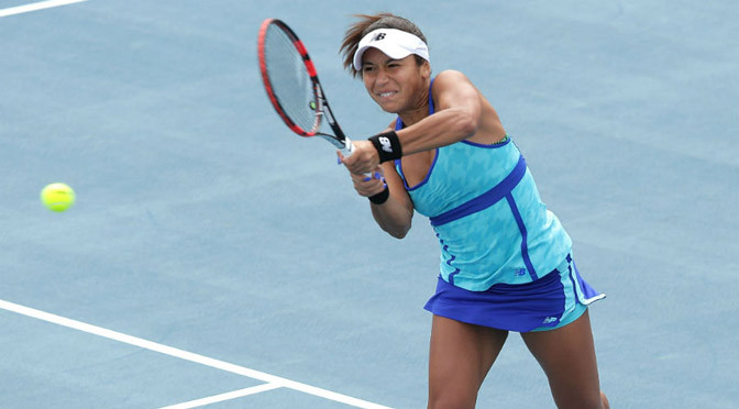 Tennis: Watson beats Riske and rain to reach Hobart final