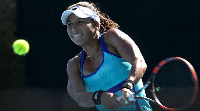 Hobart International: In-form Watson through to Hobart quarter-finals