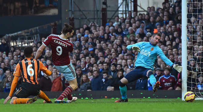 Premiership: West Ham 3-0 Hull