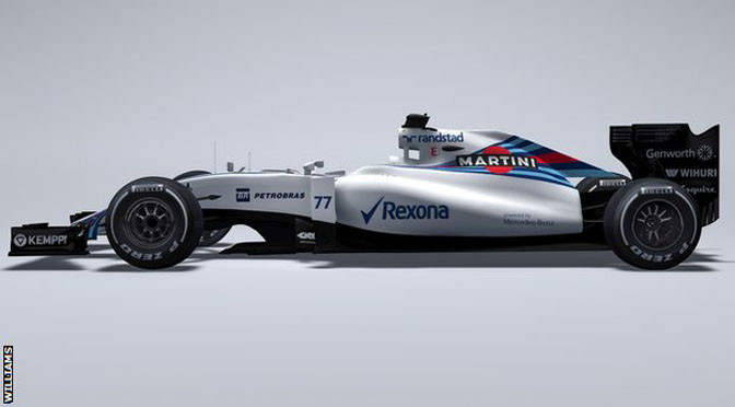 F1: Williams reveal new car for 2015