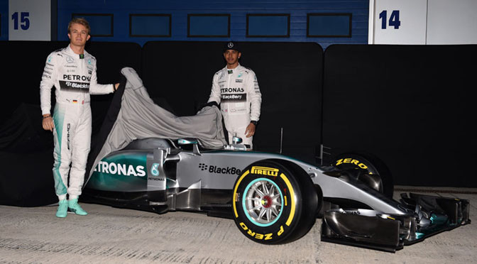 F1: Mercedes officially launches W06 Hybrid