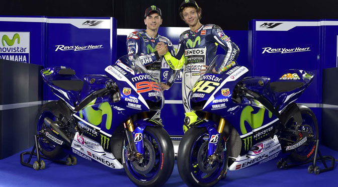 MotoGP: Yamaha unveils Rossi and Lorenzo's 2015 YZR-M1