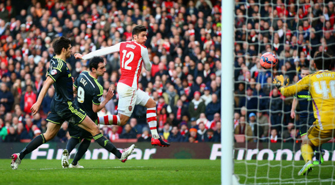 FA Cup: Arsenal 2-0 Middlesbrough