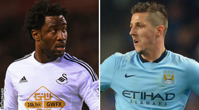 Champions League: Bony replaces Jovetic in Man City Champions League squad