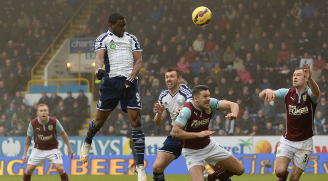Premiership: Burnley 2-2 West Brom