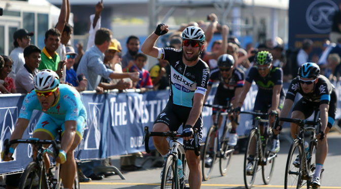 Cycling: Dubai Tour: Cavendish sprints to second season win